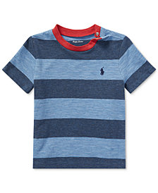 Ralph Lauren Slub Cotton Jersey T-Shirt, Baby Boys