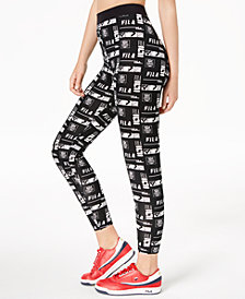 Fila Rey High-Rise Printed Leggings