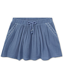 Polo Ralph Lauren Fit & Flare Cotton Skirt, Big Girls