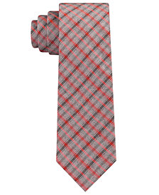 Calvin Klein Men's Infinite Check Skinny Tie