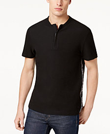 Calvin Klein Men's Zip-Close Henley