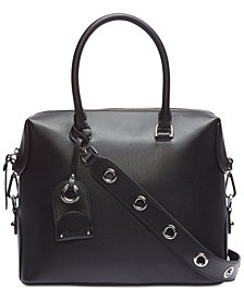 Calvin Klein Sabrina Leather Satchel