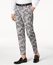 I.N.C. Men's Slim-Fit Camo Jacquard Pants, Created for Macy's