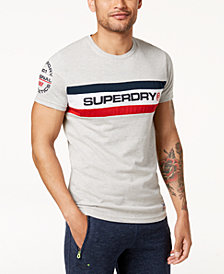 Superdry Men's Trophy Logo Chest Band T-Shirt