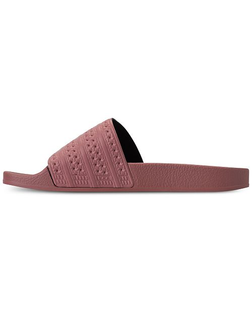 38be1b7b7a5e adidas Women s Adilette Slide Sandals from Finish Line   Reviews ...