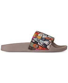 Women's BOBS - Pop Ups - Doggie Paddle BOBS for Dogs Slide Sandals from Finish Line