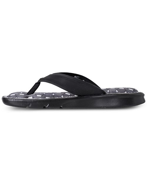 288766c2999 ... Nike Women s Ultra Comfort Print Thong Flip Flop Sandals from Finish ...