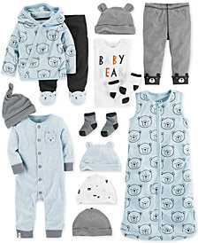 Carter's Baby Boys Bear-Print Layette Separates