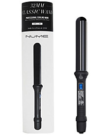NuMe 32mm Classic Curling Wand (Black), from PUREBEAUTY Salon & Spa