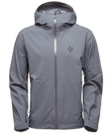 Black Diamond Men's StormLine Stretch Rain Shell Jacket from Eastern Mountain Sports