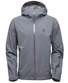 Black Diamond Men's StormLine Stretch Rain Shell Jacket from Eastern Mountain Sports