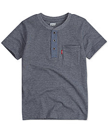 Levi's® Toddler Boys Cotton Henley
