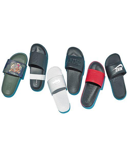 945b46de7f4b Polo Ralph Lauren Men s Cayson Sport Slide Sandals   Reviews - All ...