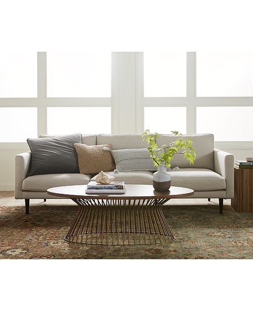 "Furniture Lodie 90"" Fabric Sofa"