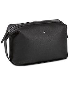 Montblanc Men's Black Meisterstück Soft Grain Leather Bag