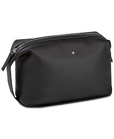 Montblanc Men's Black Meisterstück Soft Grain Leather Bag