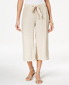 Thalia Sodi Pull-On Capri Pants, Created for Macy's