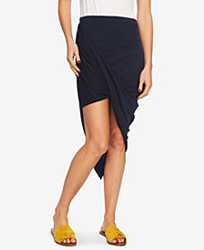 1. State Asymmetrical Wrap Skirt