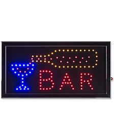Bar Lighted Neon Electric Display Sign with Animation & Energy Efficient LED
