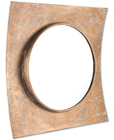 Zuo Cuadrado Gold-Tone Mirror