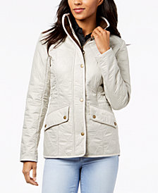 Barbour Cavalry Quilted Fleece-Lined Coat