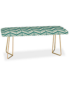 Deny Designs Heather Dutton Weathered Chevron Bench