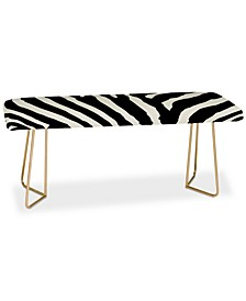 Natalie Baca Zebra Stripes Bench