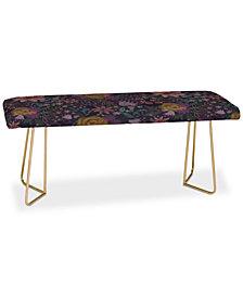 Deny Designs Stephanie Corfee Whitney Floral Bench