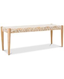Ferina Weave Bench