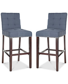 Ora Bar Stool (Set Of 2), Quick Ship