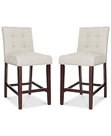 Ora Counter Stool (Set of 2), Quick Ship