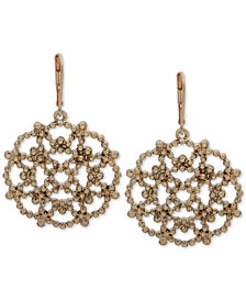 lonna & lilly Openwork Starburst Chandelier Earrings, Created for Macy's