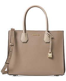 MICHAEL Michael Kors Mercer Large Pebbled Accordion Tote