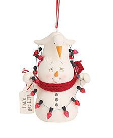 Department 56 Snowpinions Let's Get Lit Ornament