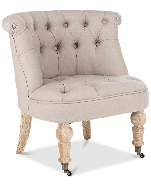 Safavieh Dearne Accent Chair, Quick Ship