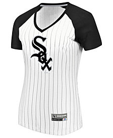 Majestic Women's Chicago White Sox Every Aspect Pinstripe T-Shirt