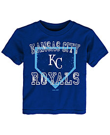 Outerstuff Kansas City Royals Fan Base T-Shirt, Toddler Boys (2T-4T)