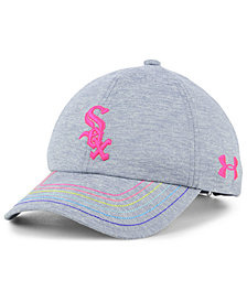 Under Armour Girls' Chicago White Sox Renegade Twist Cap