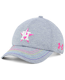 Under Armour Girls' Houston Astros Renegade Twist Cap
