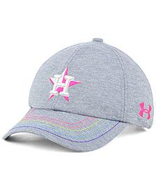 Under Armour Girls' Houston Astros Renegade Twist Cap