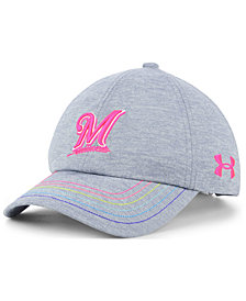 Under Armour Girls' Milwaukee Brewers Renegade Twist Cap