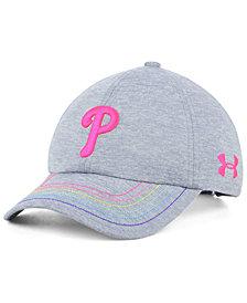 Under Armour Girls' Philadelphia Phillies Renegade Twist Cap