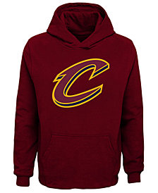 Outerstuff Cleveland Cavaliers Primary Logo Hoodie, Big Boys (8-20)