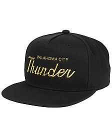 Mitchell & Ness Oklahoma City Thunder Metallic Tempered Snapback Cap