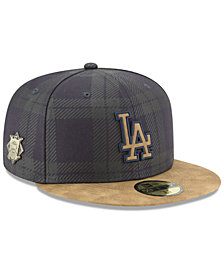 New Era Los Angeles Dodgers Plaid 59FIFTY Fitted Cap