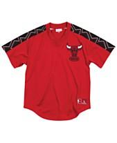 Mitchell   Ness Men s Chicago Bulls Winning Team Mesh V-Neck Jersey a1acbbe23