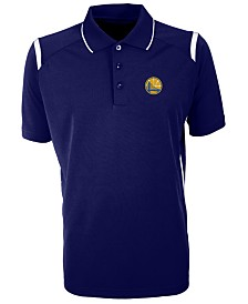 Antigua Men's Golden State Warriors Merit Polo Shirt