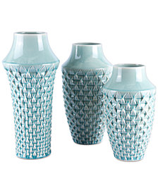 Zuo Brick Light Teal Vase Collection
