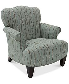 Walton Fabric Press Back Chair