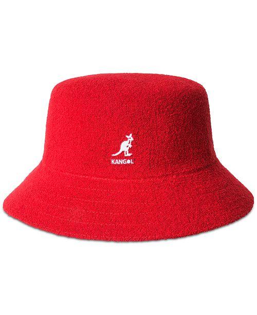 63bf3a01733354 Kangol Men's Bermuda Terry Bouclé Bucket Hat & Reviews - Hats ...